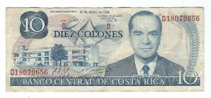 Costa Rica - 10 Colones, 1980