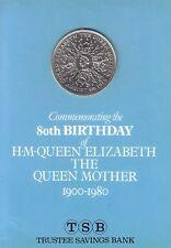 1900-1980 80th Birthday Queen Elizabeth Commemorative Crown Coin