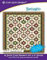 Bellagio Quilt Pattern by Cozy Quilt Designs