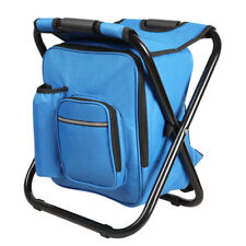 Portable Folding Camping Fishing Chair Stool Backpack Outdoor Travel Beach Bag