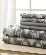 New Bed Sheet Set Hotel 5th Ave Bellagio Collection Six-Piece Sheet Set Queen