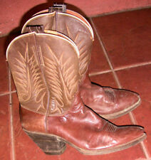 Leather and Suede Cowboy Boots Peewee