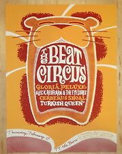 2006 The Beat Circus - Cambridge Silkscreen Concert Poster by Thomas Scott