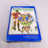 COMPLETE IN BOX Intellivision NASL Soccer TESTED GUARANTEED!