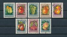 Hungary  1088-95 used, Fruits, 1954