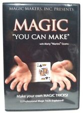 Magic You Can Make by Magic With Marty Grahms -Illusions, Close up Magic.