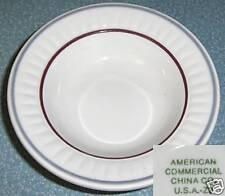 "Restaurant Ware Fruit Dessert Dish 5"" Bowl American Commercial China"
