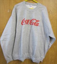 Coca-Cola Gray Sweatshirt - Small- NEW