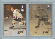 BOBBY HULL, 1993 Action Packed Prototype PAIR-Regular #BH1 & RARE GOLD #BH2,