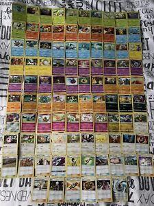 Pokemon Card Bundle Cosmic Eclipse Part Complete Set 96/236 Near Mint+ Joblot