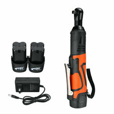 """18V 3/8"""" 60N.m Cordless Electric Ratchet Wrench Tool 2 x Battery & Charger Kit"""