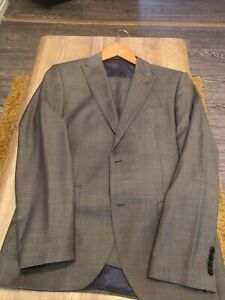 Next Tailored Fit Wool Suit. 40R