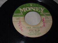THE M-M AND THE PEANUTS The Phillie/I Found My Love 45 Money Northern Soul