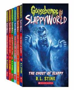 Goosebumps Slappyworld Series 6 Books Collection Set (Books 1 - 6) by R.L. STINE