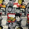 Star Trek Character Allover Nursery Sewing Quilting Cotton Fabric FQ