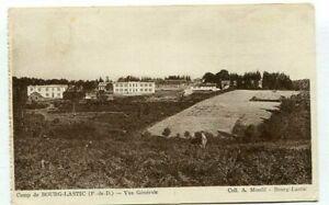 D16477 Camp de Bourg-Lastic Vue Générale 1941 Postcard France WW II Military