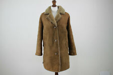 MORLANDS Brown Sheepskin Shearling Coat Chest size 42In