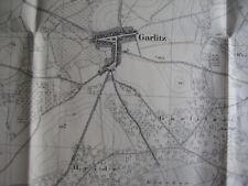 Brandenburg an der Havel 1:25.000 Marzahne Barnewitz Buckow Umgebung Karte 1832