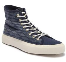 New in Box - $128 FRYE Ludlow Canvas Navy Print High-Top Sneaker Size 10