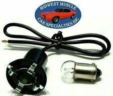 Ford Dash Side Marker Tail Park Lens Lamp Light Bulb 5/8 Socket Wiring Harness C