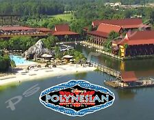 Florida - Disney Polynesian Great Ceremonial House - FLEXIBLE Fridge Magnet