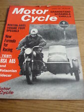 MOTOR CYCLE 4.03.65 BSA A 65 ROAD TEST jm