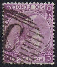 British Levant 1870 SG109 6d Mauve Pl 9 QC Fine Used in Constantinople Cat. £90