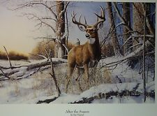 Jim Hansel At The Crossing, After The Season, RiverBottom Buck, Winter Have