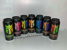 Reign Total Body Fuel. A Set Of 7 Full Cans Pictured