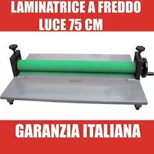 Laminatrice calandra a freddo manuale luce 75 cm nuova garanzia italiana corrier
