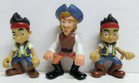 2012 TOY MATTEL DIEGO PIRATE FIGURINES / LOT OF 3 / DECENT CONDITION