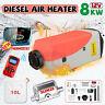 12V 8KW Diesel Air Heater Standheizung Luftheizung Fernbedienung KFZ Heizung Kit