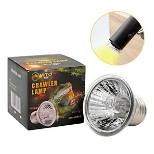 Reptile Lamp 25/50/75W UVA+UVB 3.0 Pet Heat Lamp Bulb Turtle Basking Light Bulbs
