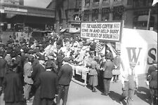 1918-World War 1-NYC-Fundraising Drive-Kaiser's Coffin-Drive a Nail in Coffin