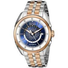 Bulova Accu-Swiss 65B163 Tellaro GMT Men's Swiss Made Automatic Watch $1795 NEW