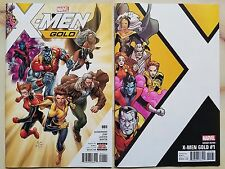 X-MEN GOLD #1 MAIN AND CORNER BOX VARIANT COVER 1st PRINTING MARVEL 2017 LOT