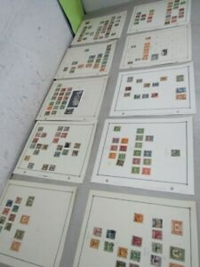 Nystamps China & Dragon old stamp collection Scott page
