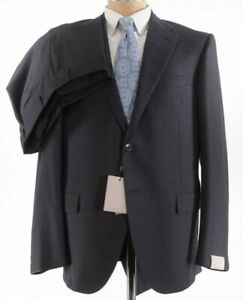 Corneliani NWT Suit Size 44R In Charcoal W/ White Fleck Wool Leader $1,895