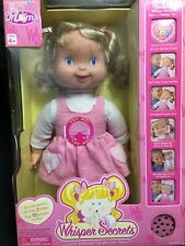 Whisper Secrets Thinkway Toys Lil Moms Interactive TalkinG Doll Box 2001 NEW