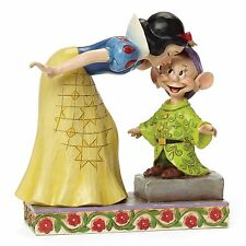 Disney Traditions Sweetest Farewell Snow White Dopey Dwarf Figurine 16cm 4043650