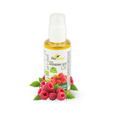 Biologici certificati Lampone Spremuto a freddo olio di semi di cosmetici 100ml biopurus
