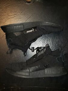 Adidas NMD TS1 GTX Gore-Tex Triple Black Men's Size 7.5 AQ0927