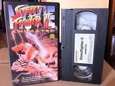 VHS MANGA MOVIE-STREET FIGHTER 2 FILM-ANIME INEDITO DVD ryu,ken,guile,game,fight