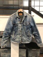 Vintage Levi Denim Jacket Blanket Lined 38 Small