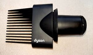 Dyson Supersonic Wide Tooth Comb attachment Black NIB Free Shipping!