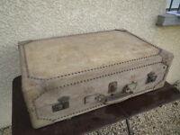 Große Koffer Systeme Antik Reise Truhe Koffer Atelier Loft Bügel Aufbewahrung