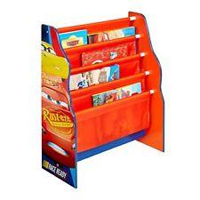 Hello Home Librería con estantes colgantes madera rojo 23x51x60 cm