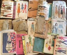 Lot of Sewing Patterns/Pieces for Mixed Media Art Collage Journaling Painting
