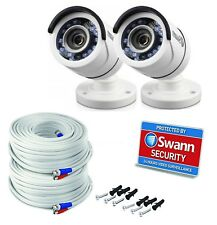 Swann PRO-T853 Super HD 2MP 1200 TVL Bullet CCTV Camera 100ft 30m Night Vision