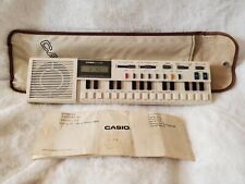 CASIO VL-TONE VL-1 ELECTRONIC KEYBOARD SYNTHESIZER CALCULATOR VINTAGE WITH CASE